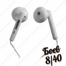 Наушники Remax RM-609 с микрофоном, white.