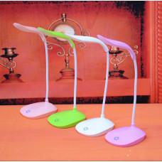 Аккумуляторная настольная сенсорная лампа LAIDEYI USB. Имеет три уровня регулировки