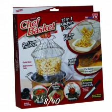 Складная решетка для приготовления пищи Shef Basket