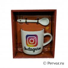 """Кружка """"Instagram"""" в подарочной упаковке"""
