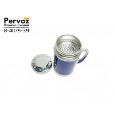 Термокружка с герметичной крышкой с сито для чая .
