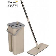Комплект для уборки Supretto Easymop Self-Wash с ведром и самоотжимом