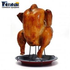 Антипригарная подставка для приготовления курицы.