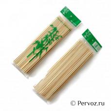 Шпажки бамбуковые для шашлыка 15см 100шт