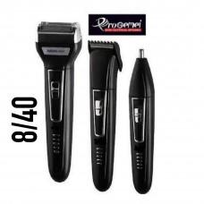 Машинка Gemei GM 573 триммер 3 в 1 ProGemei электробритва для стрижки волос, бороды и усов