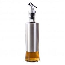 Бутылка дозатор для масел и соусов. Материал: стекло и металл. Объем 320мл