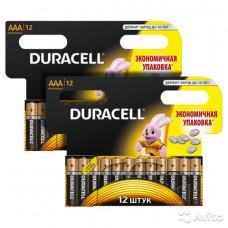 Батарейки Duracell AAA (LR03) Мизинчик