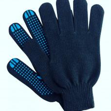 Перчатки хозяйственные хб (черные, белые, серые)