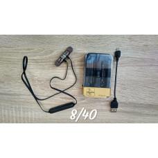 Беспроводные наушники с магнитами (подключаются через Bluetooth)
